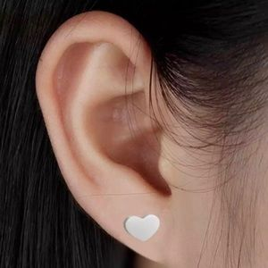 Adorable Happy Heart Stainless Steel Studs